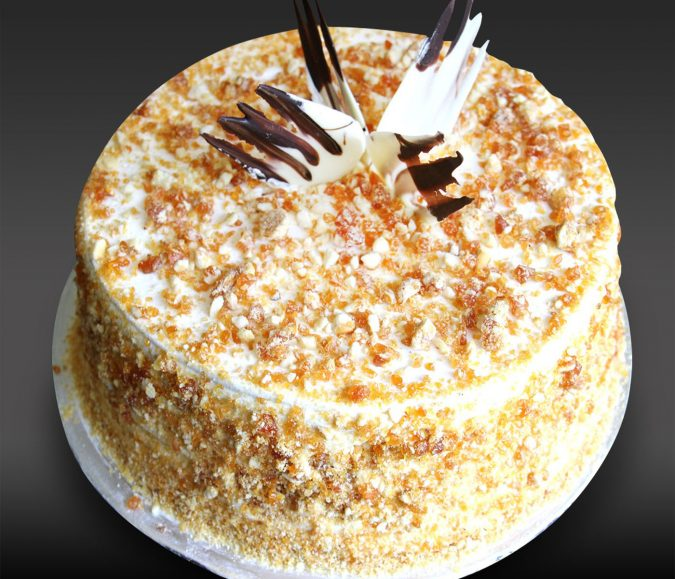 Butterscotch-Cake-675x579 Top Regular Cakes to Add the Sweetness in Your Celebrations