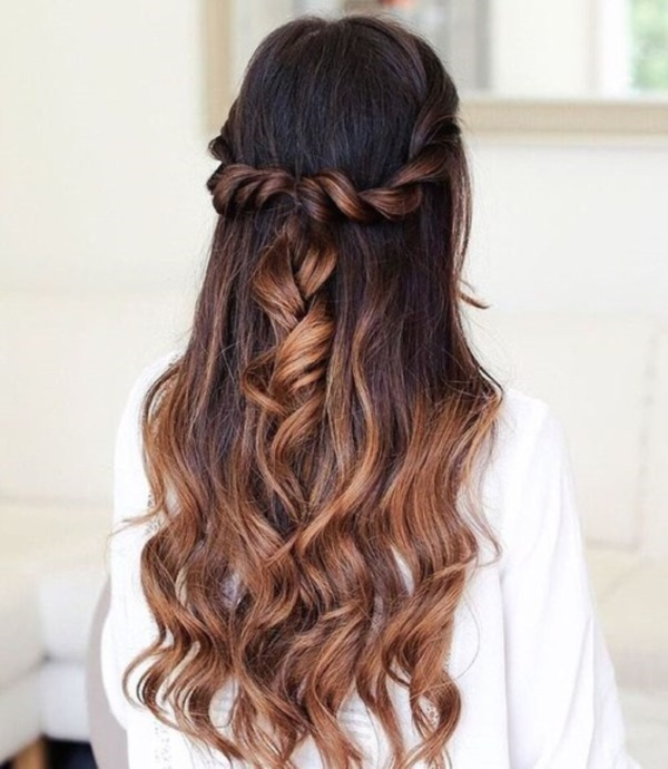 Half-Up-Rope-Braids-hairstyle Top 12 Hairstyles Women Will Love to Make in 2019