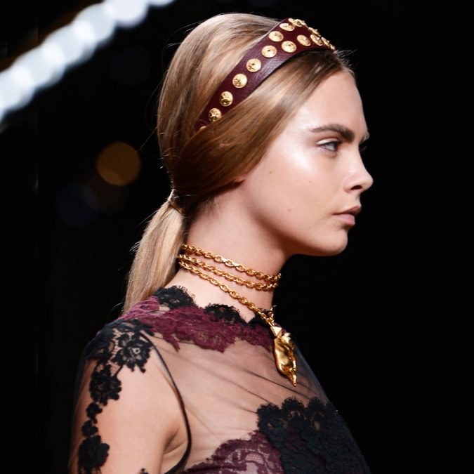 Headbands-and-a-Low-Ponytail-hairstyle-valentino-spring-2004-hair-675x675 +12 Most Stylish Hairstyles Women Will Love to Make in 2020