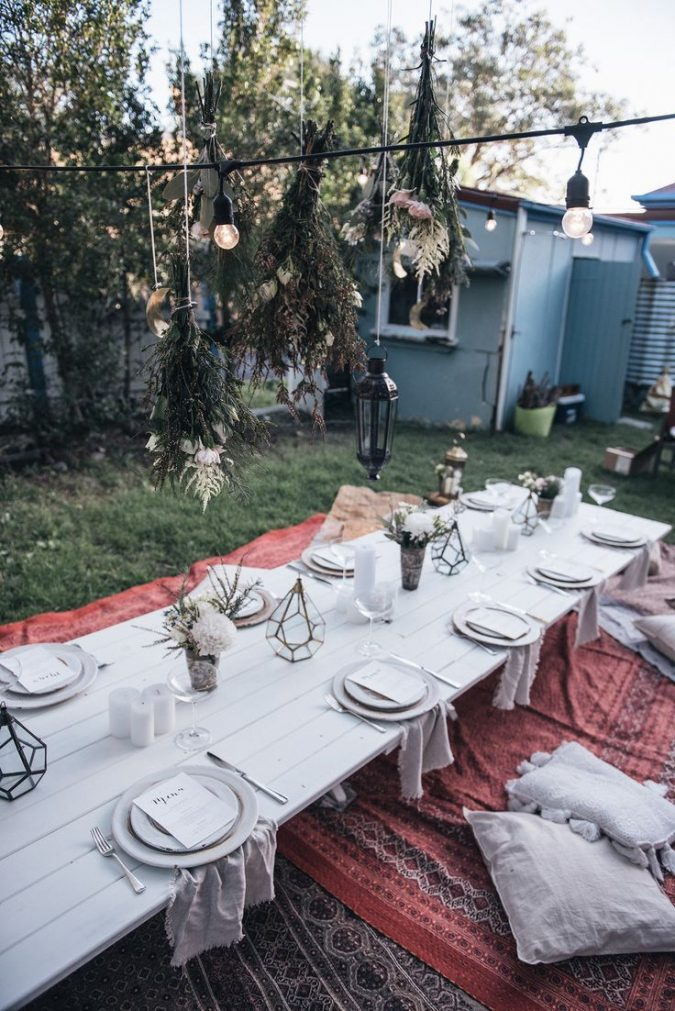 Picnic-Style-Party-themed-dinner-parties-gypsy-style-675x1011 Best 10 Trending Backyard Party Ideas for All the Party Freaks Out There