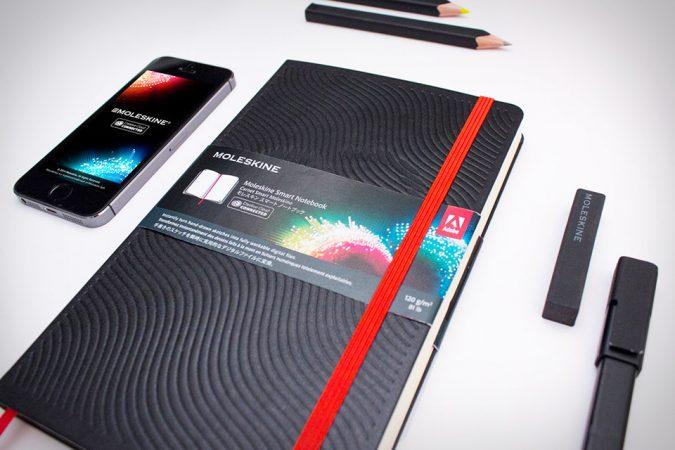 Smart-Notebook-moleskine-adobe-675x450 Best 10 Gadgets for College Students: 2020 Trending