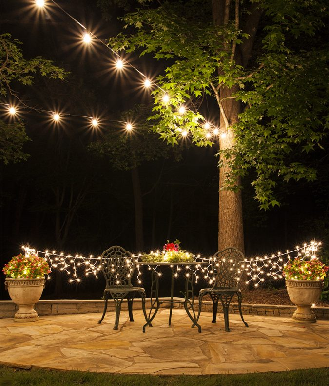 backyard-party-string-lights-how-to-hang-patio-lights-6615-675x792 Best 10 Trending Backyard Party Ideas for All the Party Freaks Out There
