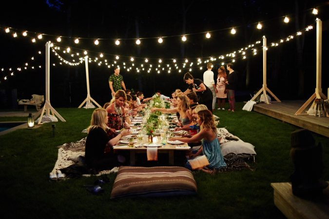 backyard-partystring-lighting-675x450 Best 10 Trending Backyard Party Ideas for All the Party Freaks Out There