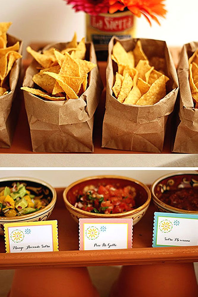 home-party-Bags-of-Corn-Chips-for-Tacos Best 10 Trending Backyard Party Ideas for All the Party Freaks Out There