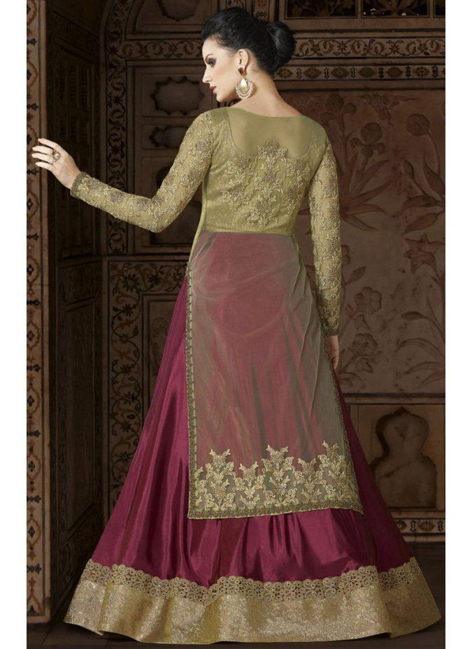 lehenga-kurta-675x928 Shop Perfect Lehenga Online [Top Lehenga Saree Designs]