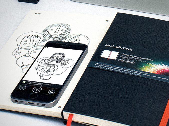 moleskine-smart-notebook-creative-cloud-connected-675x506 2019 Trending: Best 10 Gadgets for College Students
