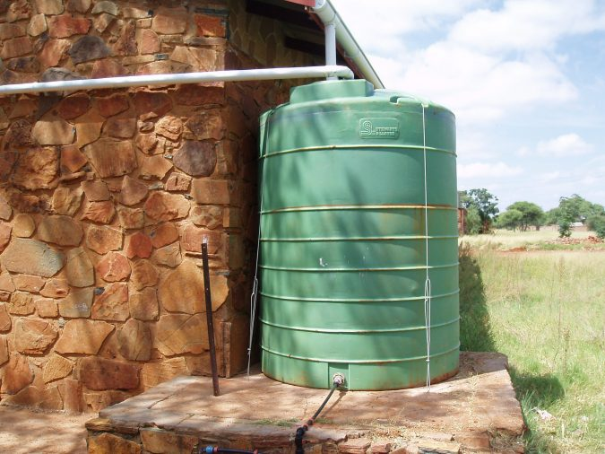rainwater-tank-675x506 How to Budget Naturally When Settling Down