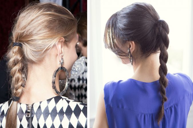 school-hairstyles-Rope-Braid-Ponytail-2-675x450 Top 10 Trendy Back to School Hairstyles 2020