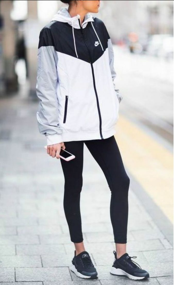 school-outfits-Nike-jacket-sports-jacket-675x1102 Top 12 Trending Back-to-School Outfits 2018/2019