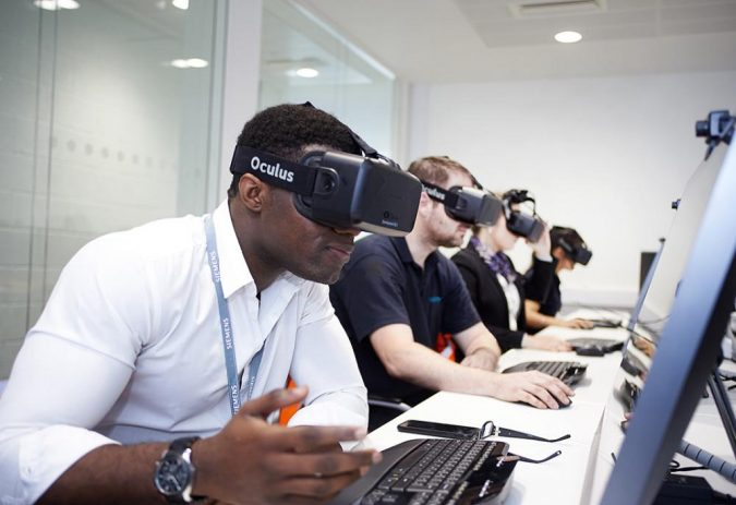 virtual-reality-classroom-elearning-675x463 The Next Level Training Platform for Your Business