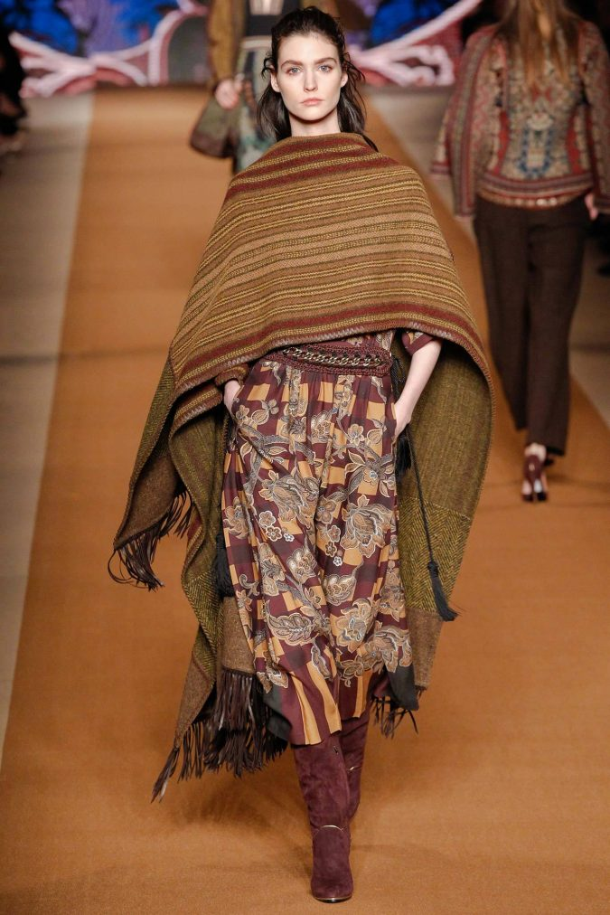 Boho-Chic-Clothes-in-Etro-Fall-Winter-2014-2015-675x1012 7 Bohemian Fashion Trends for Fall-Winter 2019
