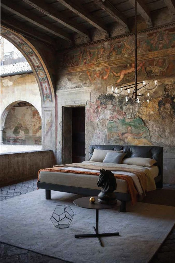Italian-decor-modern-bedroom-675x1013 +45 Stellar Boho Interior Designs & Trends for 2019