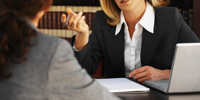 LAWYER-CLIENT-675x338 Should I Get an Attorney After a Car Accident?