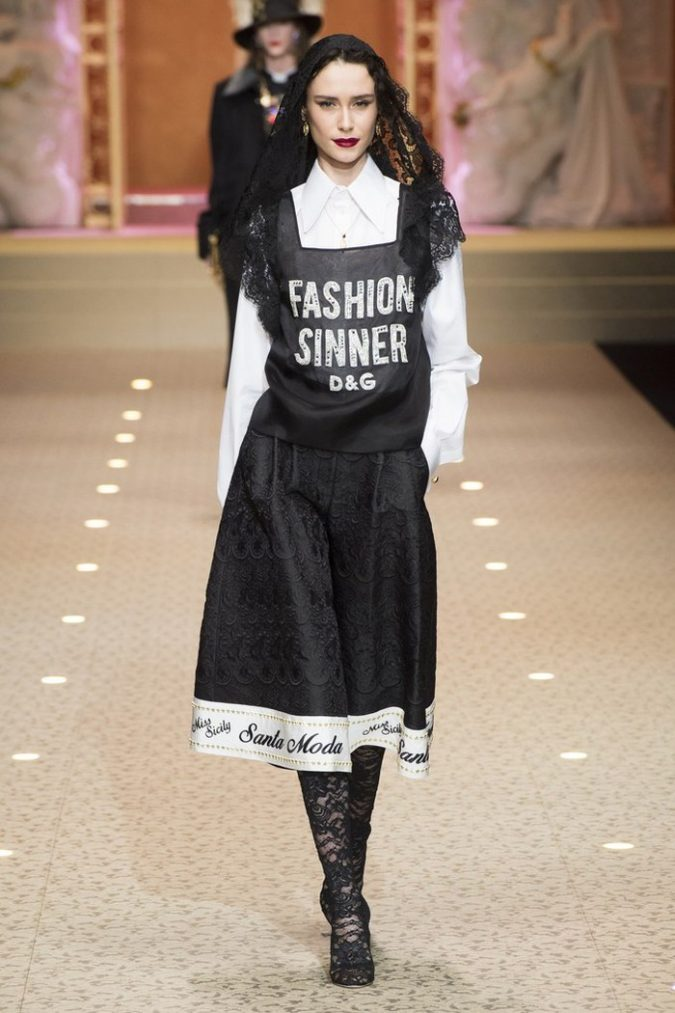 boho-fashion-2019-Dolce-Gabbana-outfit-675x1013 7 Bohemian Fashion Trends for Fall-Winter 2019