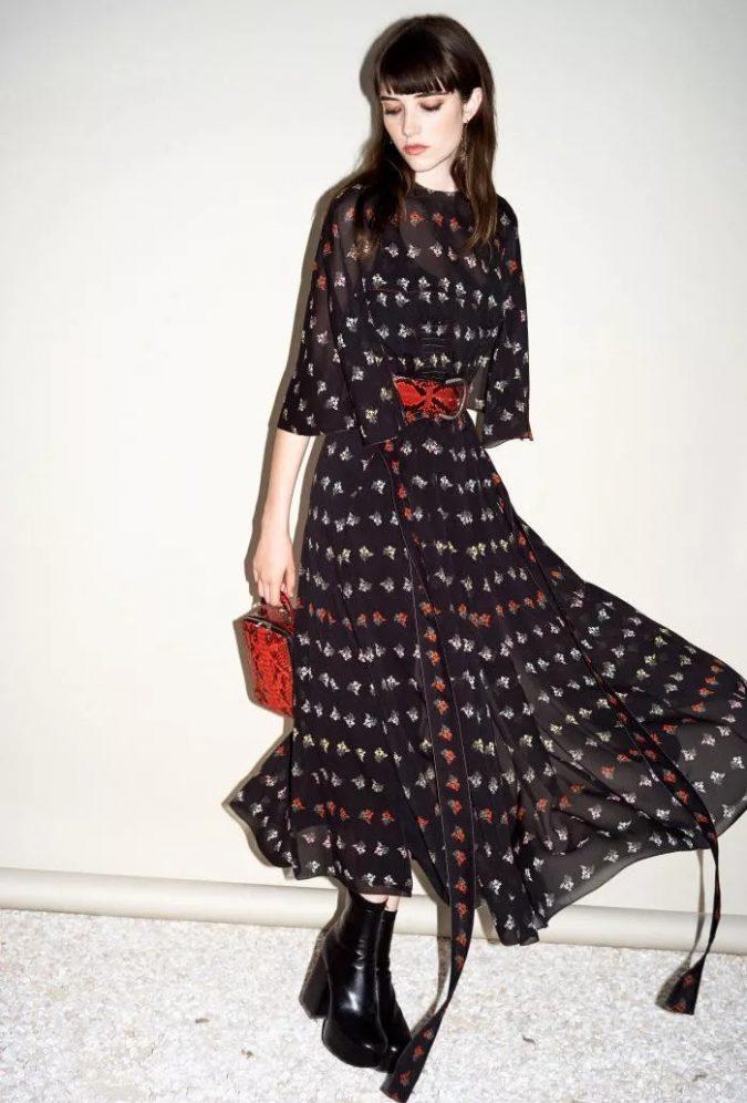 boho-fashion-2019-dress-boot-675x996 7 Bohemian Fashion Trends for Fall-Winter 2021