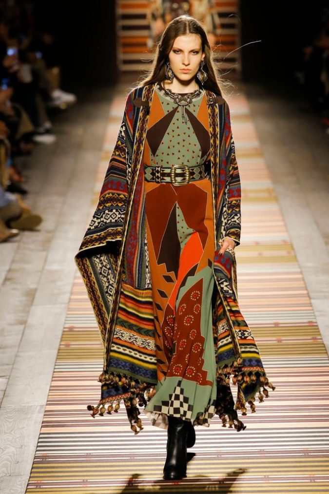 boho-fashion-dress-Milan-2018-2019-675x1012 7 Bohemian Fashion Trends for Fall-Winter 2019