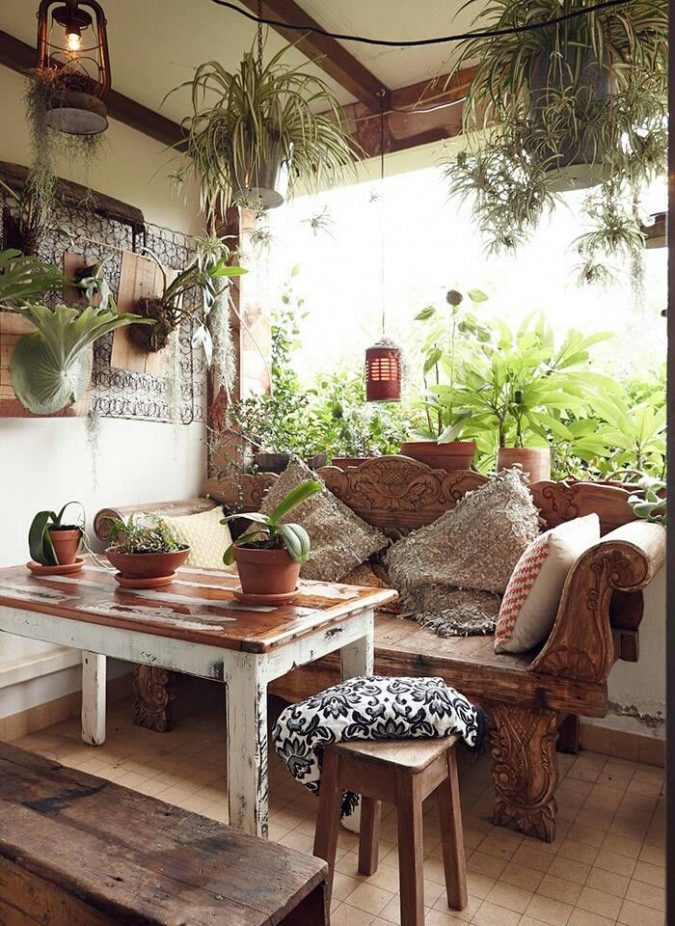 boho-home-decor-675x926 +45 Stellar Boho Interior Designs & Trends for 2019