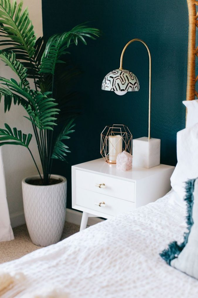 boho-home-decor-9ea2732ef97f3a89fd630ccf909444e0-teal-bedrooms-master-bedrooms-675x1013 +45 Stellar Boho Interior Designs & Trends for 2020