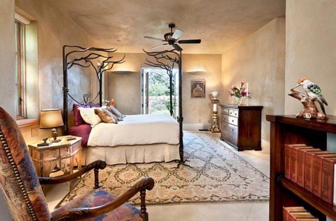 boho-home-decor-Moroccan-bedroom-675x444 +45 Stellar Boho Interior Designs & Trends for 2020