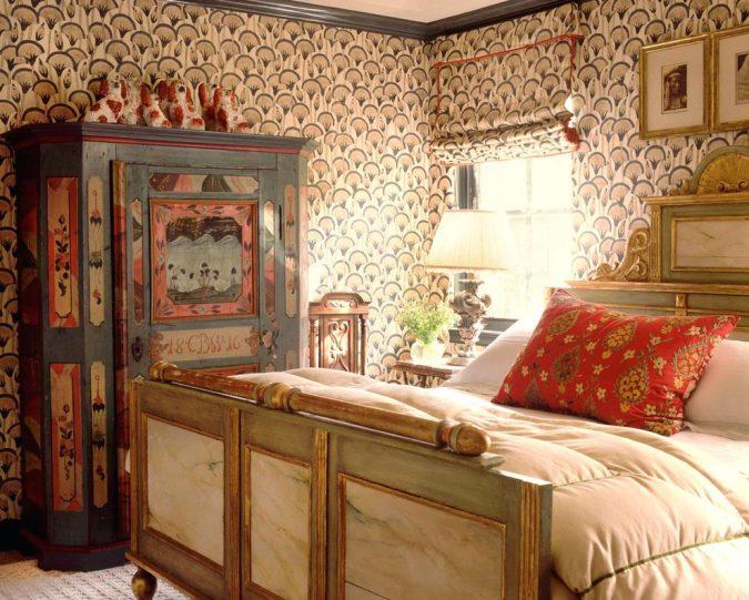 boho-home-decor-bedroom-2-675x541 +45 Stellar Boho Interior Designs & Trends for 2020