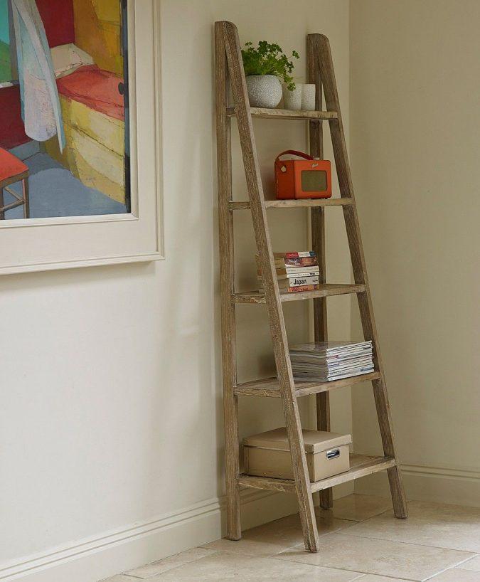 boho-home-decor-ladder-675x818 +45 Stellar Boho Interior Designs & Trends for 2020
