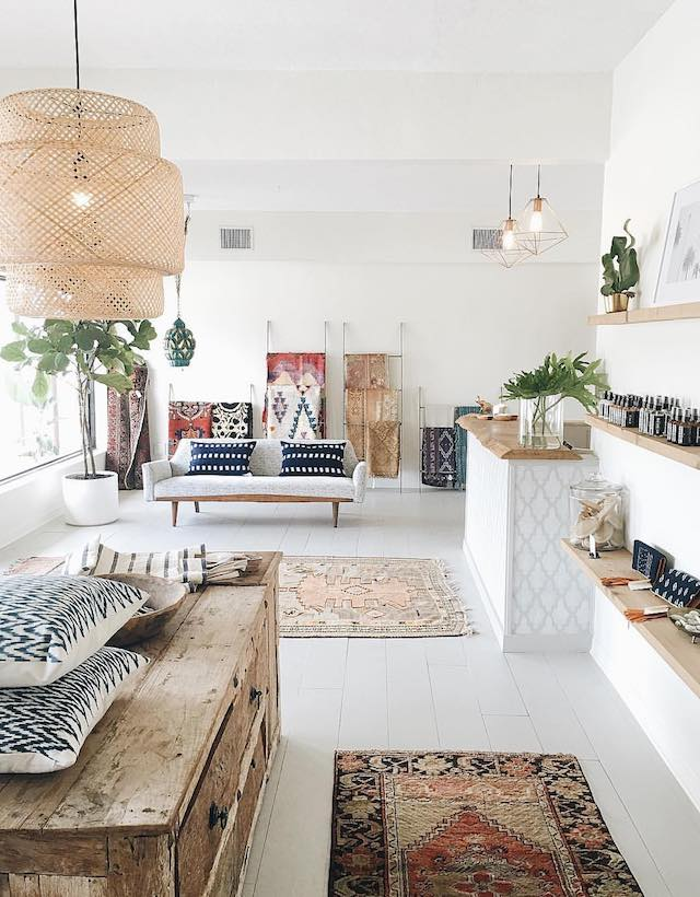 boho-home-decor-living-room-scandi-boho-style-italianabrk-interiortrends-2 +45 Stellar Boho Interior Designs & Trends for 2019