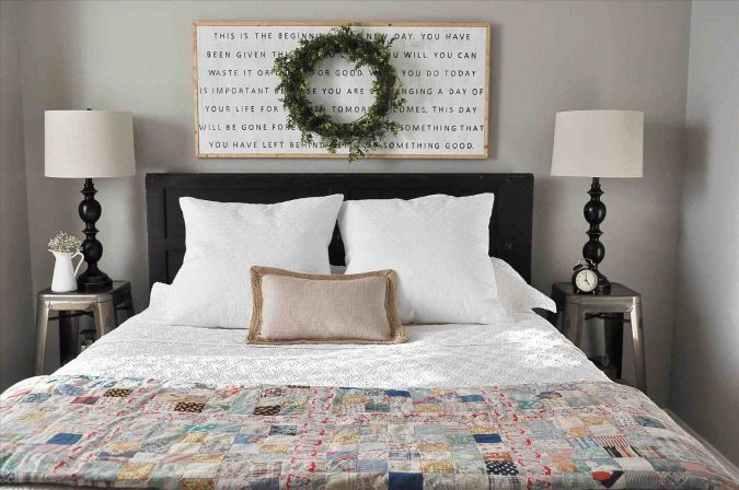 home-decor-bedroom-Farmhouse-Style-Bedding-Creative-675x448 2019 Checklist: What to Consider When Decorating Your Bedroom