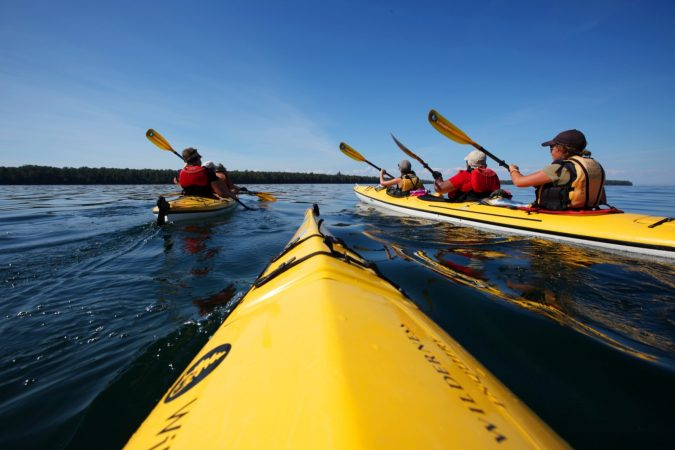 kayak-travel-Apostle-Islands-Paddle-Pinot-and-Porter-675x450 3 Tips for a Student on How to Travel and Save Money