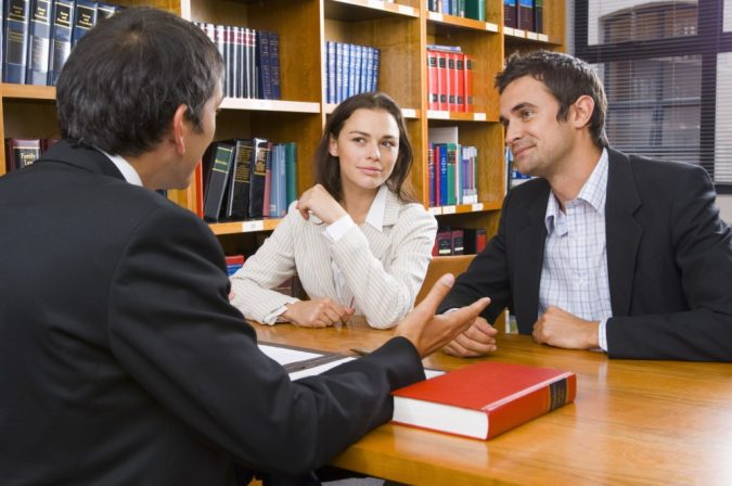 lawyer-and-clients-2-675x448 Should I Get an Attorney After a Car Accident?