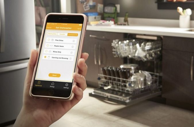 smart-kitchen-appliance-dishwasher-675x444 Appliances With Wifi Connect - Worth The Price? Is It That Good?