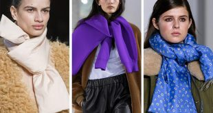 8 Trendy Ways to Wear Winter Scarves Creatively .. [2019 Trends]