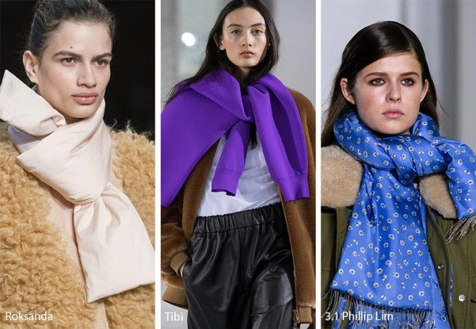 winter-scarf-fall-winter-2018_2019-jewelry_accessories_trends-statement_scarves-675x466 8 Trendy Ways to Wear Winter Scarves Creatively .. [2019 Trends]