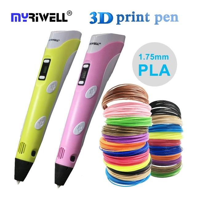 3D-printing-pen-2 Creative 3D Printing Pen DIY [with 100m ABS Filament]