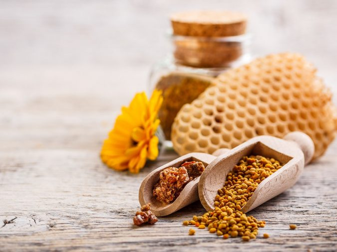 Bee-Pollen-675x506 Best 10 Hair Growth Methods with Home Remedies