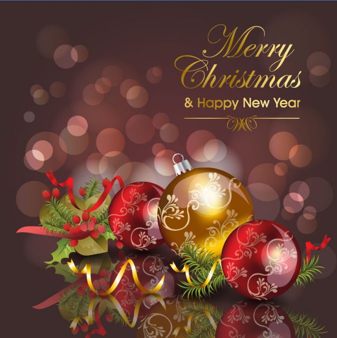 50+ Best Merry Christmas & Happy New Year Greeting Cards 2018-2019