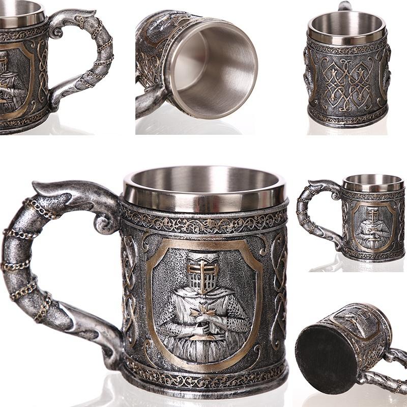 Creative-3D-Viking-Warrior-Skull-Mug-10 Creative 3D Viking Warrior Skull Mug