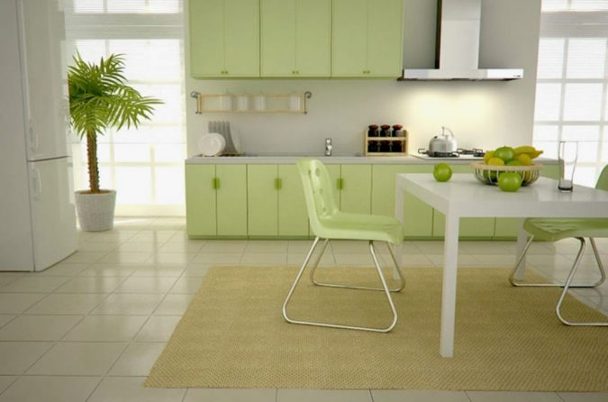 Decor-Kitchen-in-Green-675x446 10 Outdated Kitchen Trends to Substitute in 2019