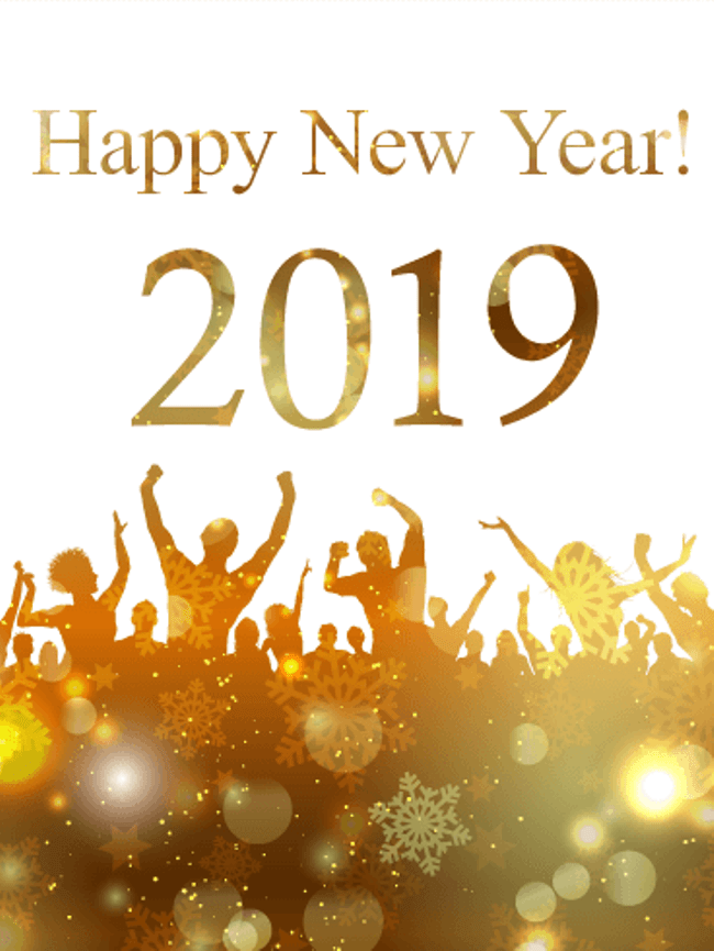 Happy-New-Year's-Eve-anniversary-2019 50+ Best Merry Christmas & Happy New Year Greeting Cards 2019 - 2020