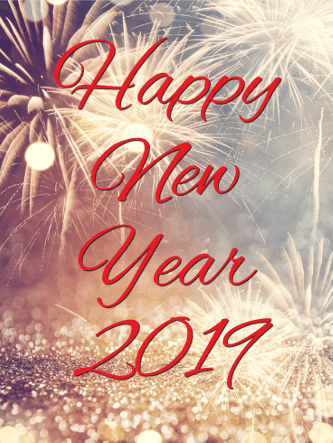 Happy-New-Year's-Eve-anniversary-card-2019 50+ Best Merry Christmas & Happy New Year Greeting Cards 2019 - 2020