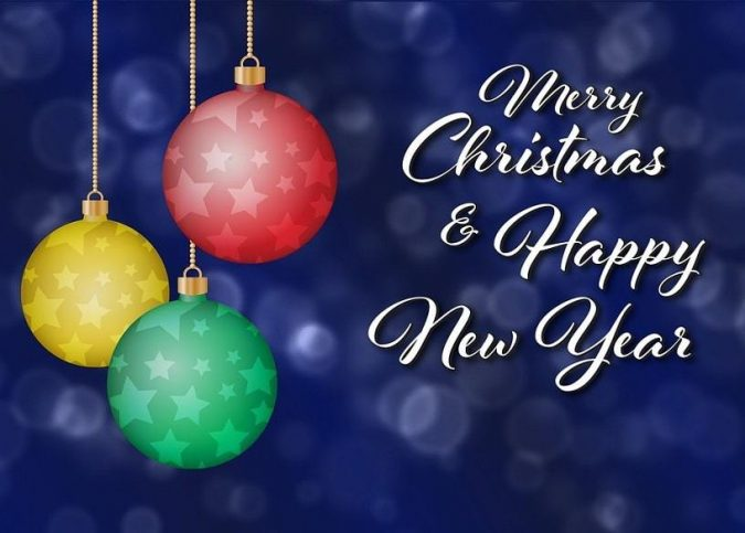 Happy-New-Year-Greeting-Card-2019-675x483 50+ Best Merry Christmas & Happy New Year Greeting Cards 2019 - 2020