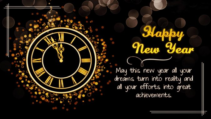 Happy-New-Year-Wishes-card-2-675x380 50+ Best Merry Christmas & Happy New Year Greeting Cards 2019 - 2020