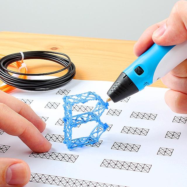 Myriwell-3D-printing-pen-3 Creative 3D Printing Pen DIY [with 100m ABS Filament]