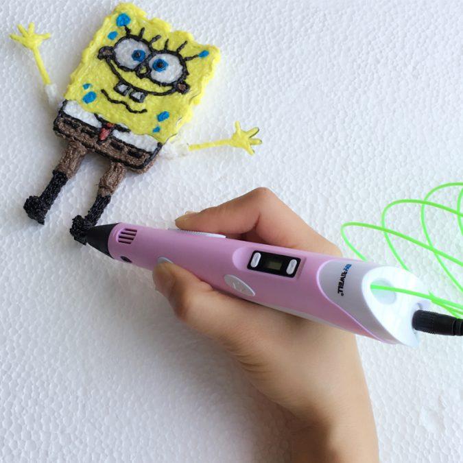 Myriwell-3D-printing-pen-6-675x675 Creative 3D Printing Pen DIY [with 100m ABS Filament]