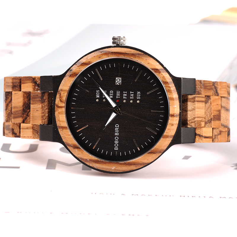 Newest-Wood-Watch-for-Men-2 Unique Masculino Wooden Watch For Men [In Wooden Gift Box]