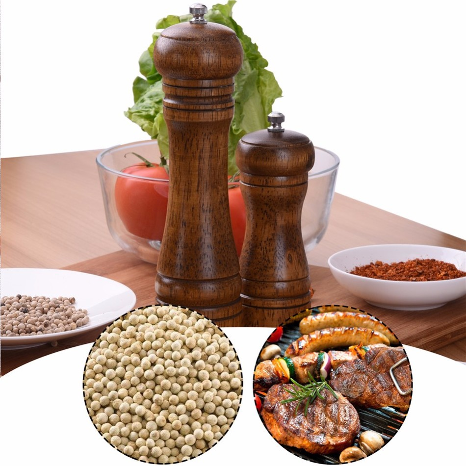 Oak-Wood-Salt-and-Pepper-Mill-Spice-Grinder-1 Premium Oak Wood Spice Grinder