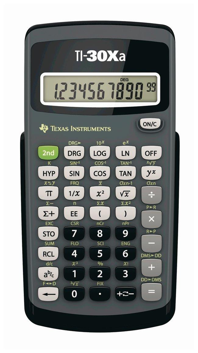 Texas-Instruments-TI-30Xa-Scientific-Calculator Top 10 Must-Have Back to School Gadgets 2021