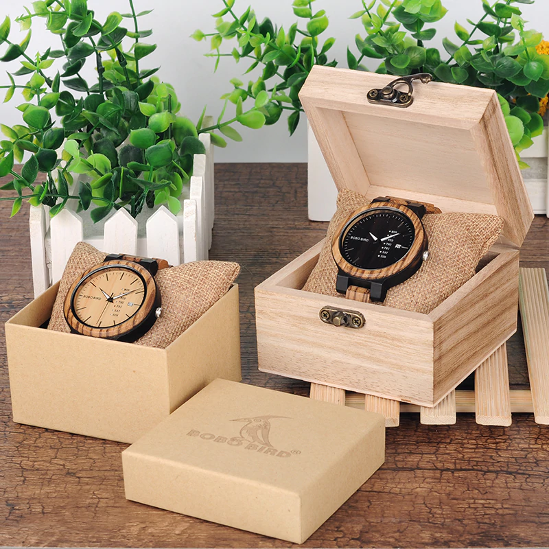Unique-Masculino-Wooden-Watch-For-Men-3 Unique Masculino Wooden Watch For Men [In Wooden Gift Box]