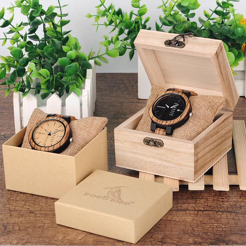 Unique-Masculino-Wooden-Watch-For-Men-3 Unique Masculino Wooden Watch For Men [In Wooden Gift Box]