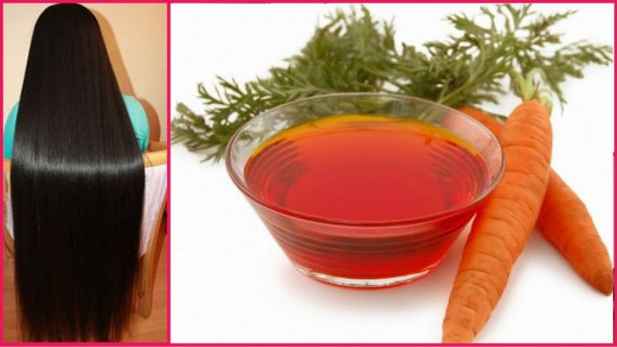 carrot-675x380 Best 10 Hair Growth Methods with Home Remedies