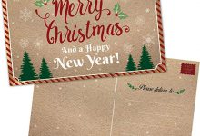 Photo of 50+ Best Merry Christmas & Happy New Year Greeting Cards 2019 – 2020